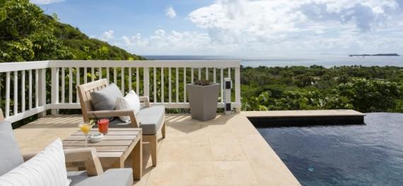 1 Bedroom Villa Suites - Le Toiny Hotel - Sea Views